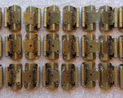 3 8 overlay partial wrap cabinet hinges 6 pair 12 hinges partial wrap self closing cabinet hinge 3 8