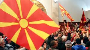 Macedonian Flag Macedonia Nationalists Violently Storm Parliament Macedonia News