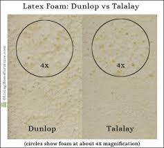 Latex Upholstery Foam Talalay Vs Dunlop Latex What U0027s The Difference