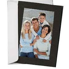 photo insert cards simplicity black photo folder insert cards sold in 10s