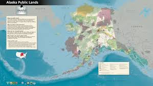 A Map Of Alaska by File Alaska Public Lands Map4000x2255 Png Wikimedia Commons