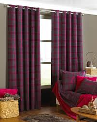 curtains orange tartan curtains like red and turquoise curtains