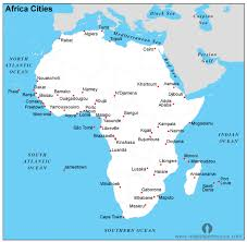 cities map free africa cities map cities map of africa continent open