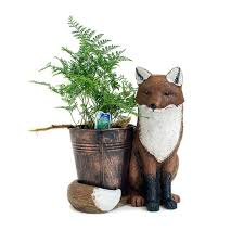 animal planter bear valley nursery fox animal planter in lincoln city oregon