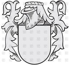 royal coat of arms medieval heraldry vector clipart image 48178