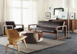Room And Board Ottoman Lind Cowhide Ottomans Sofa Sofa Leather Sofas And Living
