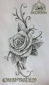 rose tattoo design by chad nicely by eyeofjadetattoos on deviantart