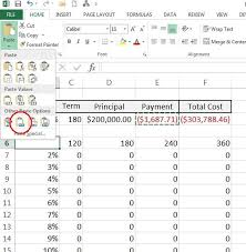 How To Create A Table In R How To Use Excel U0027s Data Table Analysis Tool Techrepublic