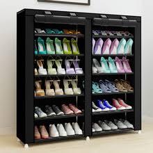 homdox 6 layer 12 grid portable home shoe rack shelf shoe storage