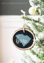 sunday crafternoon make your own wood slice ornaments ar