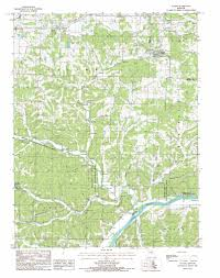 Missouri Road Map Eugene Topographic Map Mo Usgs Topo Quad 38092c4