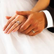 why wear wedding ring on their left ring finger