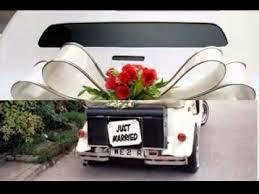 Diy Car Decor Easy Diy Projects Ideas For Wedding Car Decoration Youtube