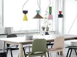 hanging light over table new dining table pendant light thehappyhuntleys com
