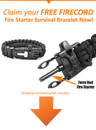 fire cord bracelet images Get a free firecord bracelet explore magazine jpg