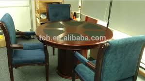 small round conference table 4 6 person small round conference table guangzhou supplier fohc