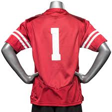 Under Armour Kids Clothes Under Armour Youth Wi Replica Football Jersey 1 Red