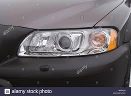 volvo station wagon 2007 2007 volvo xc70 2 5t in beige headlight stock photo royalty