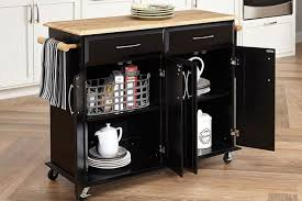 industrial iron wood kitchen trolley natural black buy kitchen best kitchen carts on amazon kitchen island carts