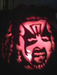 this king diamond halloween pumpkin is pretty much the best thing