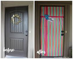door wrapping paper door wrap 1 wrapping paper front door dtavares
