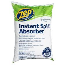 Zep Hardwood Laminate Floor Cleaner Zep 3 Lbs Instant Spill Absorber Zuabs3 The Home Depot