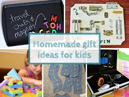 homemade gift ideas for kids keep calm get organised