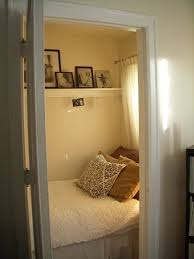 bed in closet ideas bed closet white bed