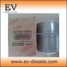 hino fuel filter j08c j08e j05c oil filter hino engine parts oem