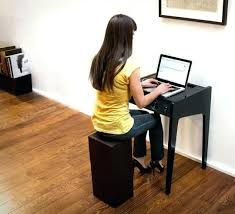 Laptop Desk For Small Spaces Small Laptop Desk Mini Laptop And Desktop Computer Desk With