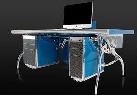 Car Computer Desk Luxury Car Furniture Bugatti Grand Prix Desk