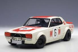 classic skyline highly detailed autoart nissan skyline gt r racing 6 1971 japan