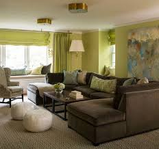 brown livingroom living room simple green and brown living room throughout living