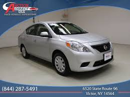 nissan sentra vs versa used nissan versa at auction direct usa