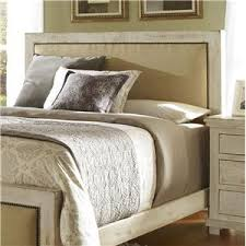 progressive furniture willow queen upholstered bed with distressed