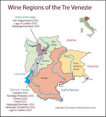 Map Of Tuscany Italy Tre Venezie U2013 Italy U2013 Swe Map 2017 U2013 Wine Wit And Wisdom