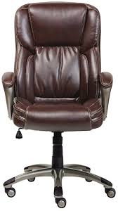 amazon com serta works executive office chair bonded leather