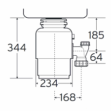 InSinkErator Evolution  Waste Disposal Unit Kitchen Sinks  Taps - Kitchen sink waste disposal units