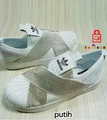 Sepatu Adidas Slip On sepatu adidas superstar slip on putih tokobelibeli