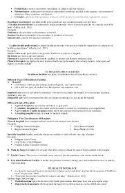 Health Insurance Resume Sample by Mapeh Health