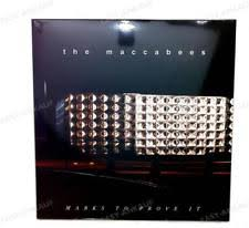 the maccabees vinyl marks to prove it by the maccabees uk vinyl jul 2015 fiction
