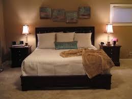 Tv Storage Bed Frame Small Master Bedroom Brown Wooden Cabinet Small Master Bedroom