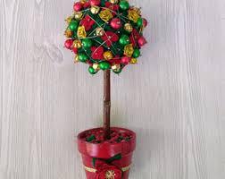 christmas topiary etsy
