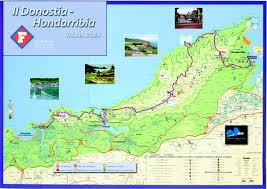 San Sebastian Spain Map by Asics Trail Race Series Trail Donostia U2013 Hondarribia 31k D 1300m