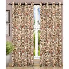 floral semi sheer curtains u0026 drapes you u0027ll love wayfair