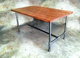 metal table legs ikea metal trestle table legs lemondededom com