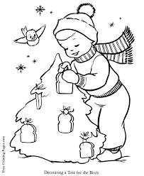 christmas reindeer coloring pages