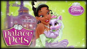 disney princess palace pets tiana u0026 lily game kids