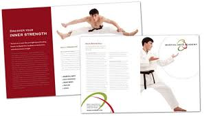 martial arts instructor pamphlet templates and samples