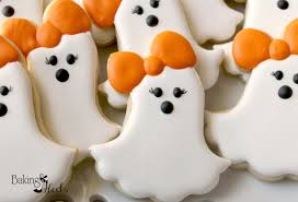 girly ghost cookies casper halloween ghost halloween